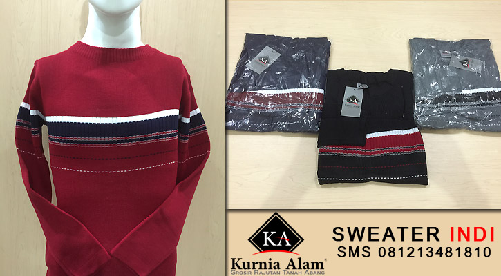 Sweater-Rajut-Pria-Indi