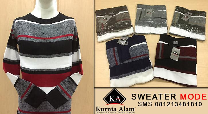 Sweater-Rajut-Pria-Mode
